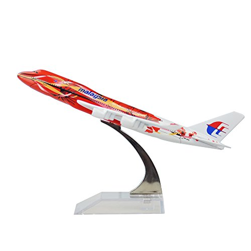 (Malaysia Airlines System Berhad Boeing 747 The Hibiscus Alloy Metal Plane Airplane Model)