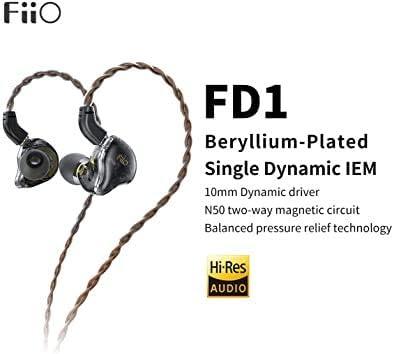 Fiio Fd1 In Ear Kopfhörer Dynamischer Berillio Elektronik