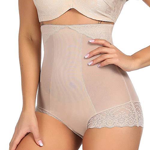 Women's Tummy Control Body Shaper Lace Shapewear Body Briefer Thigh ()