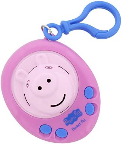 Peppa Pig Pocket Pal - Talking Toy Key Ring Figure