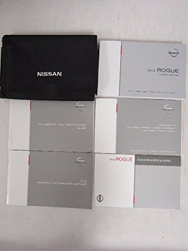 Price comparison product image 2013 Nissan Rogue Owners Manual Guide Book