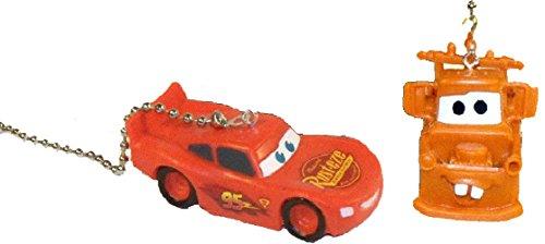 Lightning McQueen & Tow Mater Ceiling Fan Pull Set (Lightning/Mater Pair)