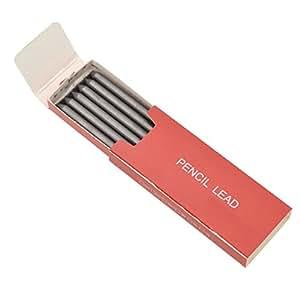"HB 2B 4B 6B 8B Lead Refills Mechanical Pencil For Art Painter 5.6mm 3.4"" 6 Pcs"