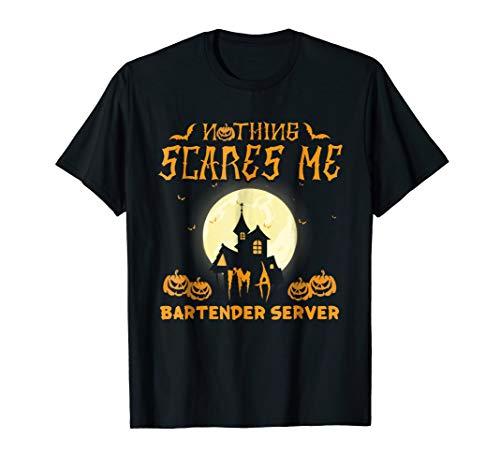 Bartender Server Easy Halloween Costume T-shirt for $<!--$16.99-->
