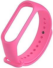 For Xiaomi Mi Band 3 - Premium Silicone Fitness Tracker Wrist Strap Band - Pink