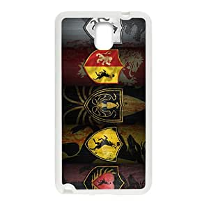 DAHAOC Game of Thrones Design Personalized Fashion High Quality Phone Case For Samsung Galaxy Note3
