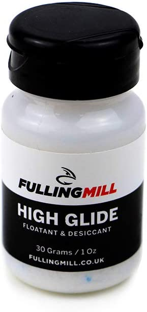 und desiccant Fulling Mill Glide Fliegenfischen /Forellen Fliegenfischen floatant/
