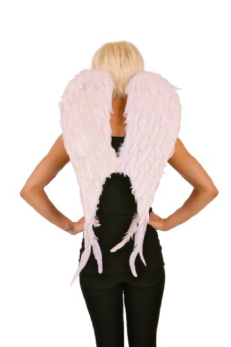 Zucker Feather Products Cupid Angel Wing (Large White Feather Angel Wings)