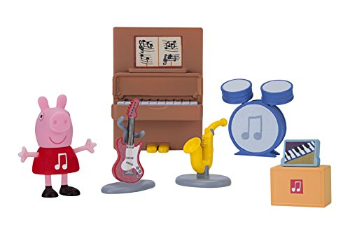 Peppa Pig Little Rooms Music Studio Playset