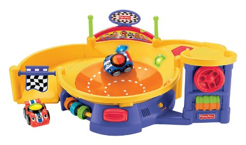 (Fisher-Price Lil' Zoomers Spinnin' Sounds Speedway)