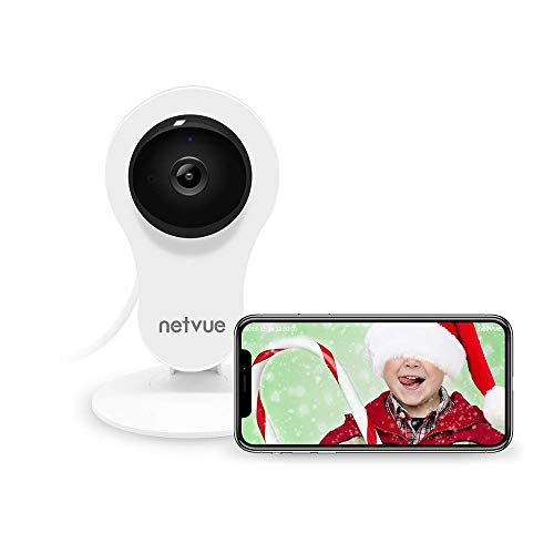Netvue 1080P HD Wireless IP Camera, WiFi Home Security Camera, 24/7 Cloud  Storage, Motion Detection/Night Vision/2 Way Audio/Baby Monitor (1080P Home
