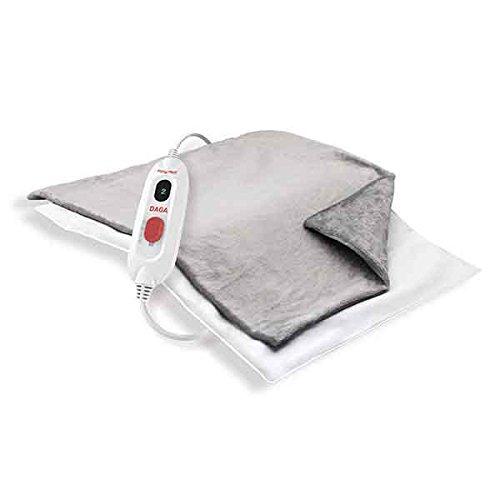 Daga E2P Flexy Heat - Almohadilla eléctrica, 45 x 35 cm, 110 W, 3 temperaturas, funda textil lavable: Amazon.es: Salud y cuidado personal
