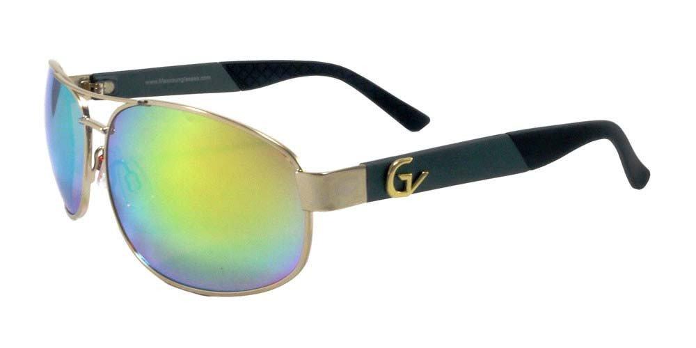 c0d2165450d Amazon.com  2017 Maxx Sunglasses TR90 Gold Vision 15 HD Yellow Lens  Sports    Outdoors
