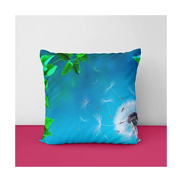 4128ydRyf4L Beatiful View Square Design Printed Cushion Cover