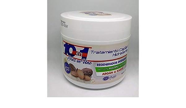 Amazon.com: Miss Key conditioner 10 en 1 tratamiento con argan y karite: Beauty
