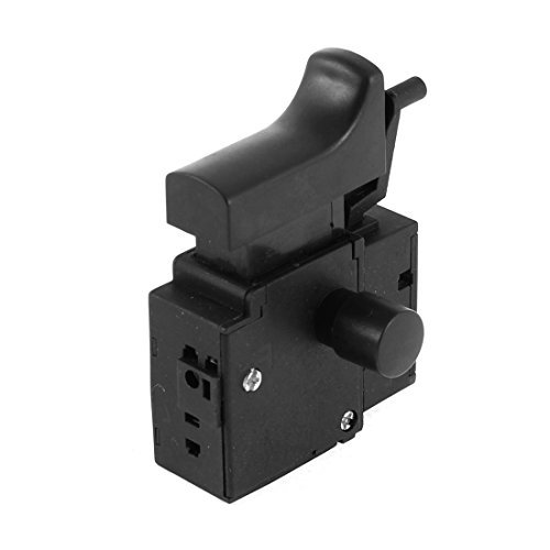 DealMux SPNO 5E4 Lock On Electric Drill Power Tool Trigger Switch