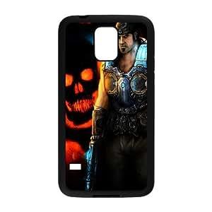 Samsung Galaxy S5 Phone Case Black Gears of War KG6358701