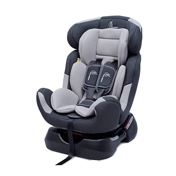 R for Rabbit Convertible Baby Car Seat Jack N Jill Grand Innovative ECE R44/04 Safety Certified Car Seat for Kids of 0