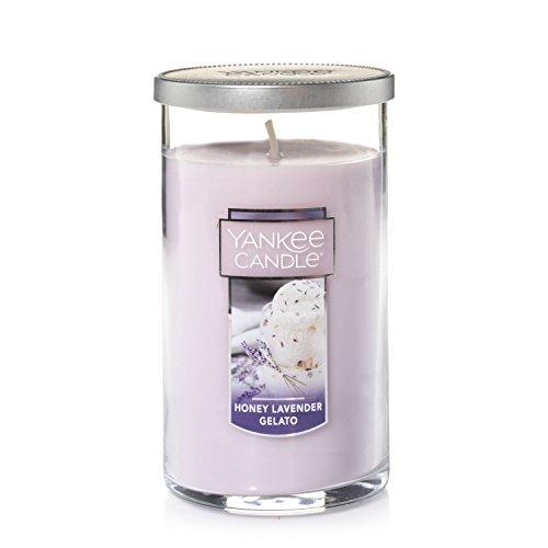 UPC 886860683771, Yankee Candle Medium Perfect Pillar Candle , Honey Lavender Gelato