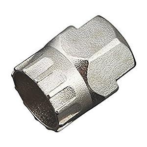 SODIAL(R)Bike Bicycle Cassette Flywheel Carbon Steel Remover Disassemble Socket Repair Tool