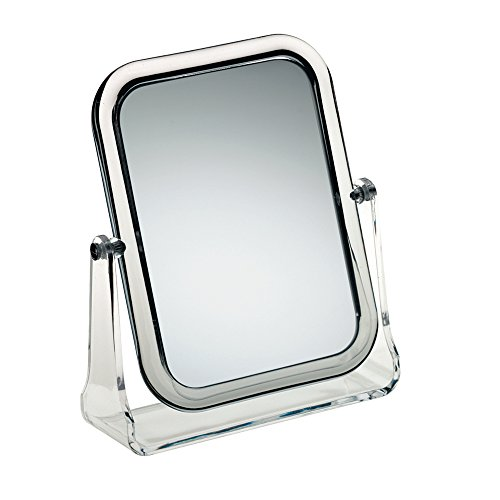 Kela 20719 Flavia Acrylic Dressing Table Mirror x1 and x3 Magnification
