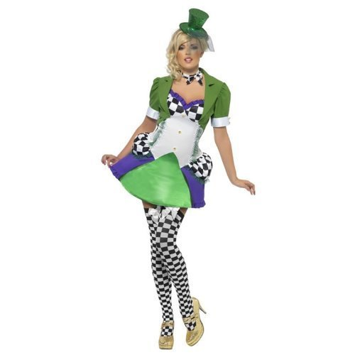 Miss Hatter Costume - Small - Dress Size