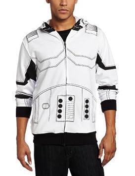 Star Wars Stormtrooper traje chaqueta con capucha (grande ...