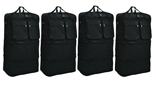 Black Expandable Bag - New 4 pack of 40