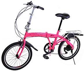 Riscko Bicicleta Plegable Metric Bep-33 Naranja: Amazon.es ...