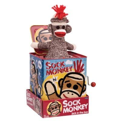 STEMtoys Sock Monkey, Jack In the Box: Office Products