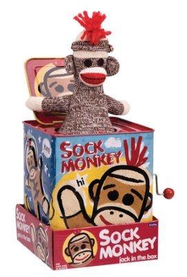 STEMtoys Sock Monkey, Jack In the Box