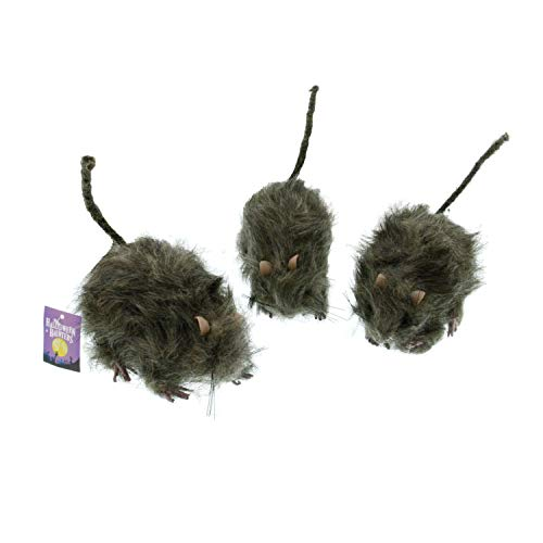TCP Global Halloween Haunters Scary Realistic Hairy Rats