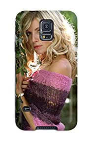 Galaxy S5 DwAPIbu3124bmknD Sienna Miller 34 Pink Violet Green Nature People Women Tpu Silicone Gel Case Cover. Fits Galaxy S5