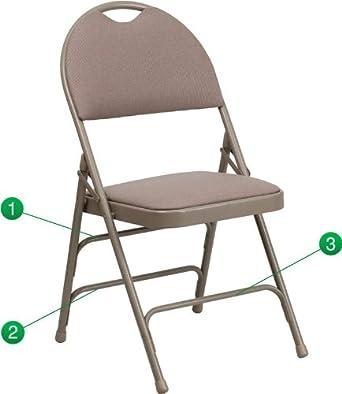 Hercules Series personalizado silla plegable con easy-carry ...