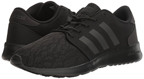 adidas Women's Cloudfoam QT Racer Running Shoe Black/White, 5.5 B - Medium by adidas (Image #6)