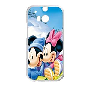 Mickey Mouse for HTC One M8 Cell Phone Case & Custom Phone Case Cover R35A652212