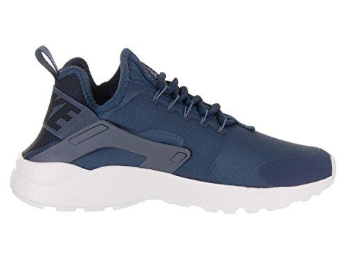Nike Womens Air Huarache Run Premium Sneakers Moda Blu / Blu-ossidiana Diffusa
