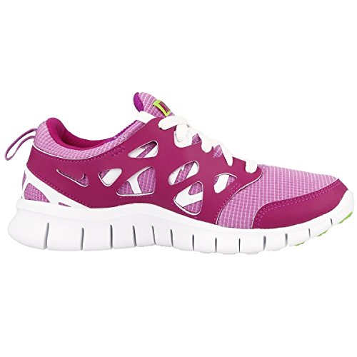 fuchsia white 2 GS fuchsia Nike lime key flash glow Free 36 Run Laufschuhe qSPEwXFx