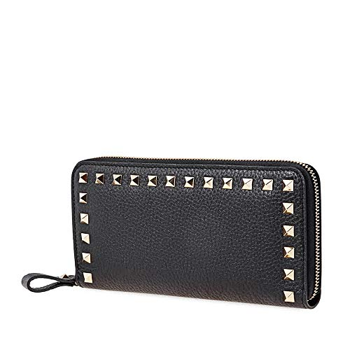 Valentino Rockstud Long Wallet- Black for sale  Delivered anywhere in USA