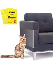 Kohree Cat Scratch Furniture Protector Cat Couch Protector Clear Double Sided Cat Scratching Guard Anti Cat Scratch Tapes Deterrent Cat Traning Tape