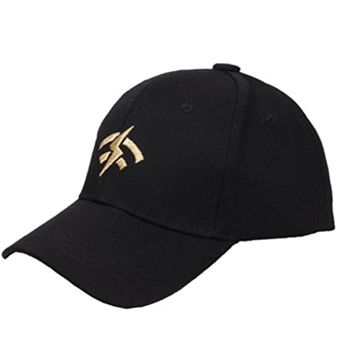 Vertily Hat Unisex Solid Outdoor Sports Classic Low Profile Plain Trucker Visor (Black) (Pocket Marathon Unisex One Top)