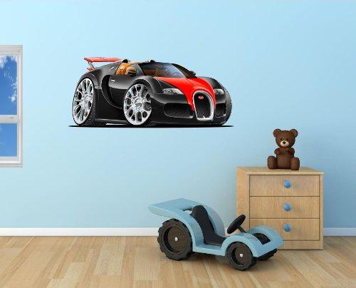 36-2010-bugatti-veyron-grand-sport-black-w-red-cartoon-car-wall-graphic-sticker-decal-kids-game-room