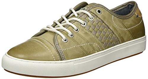 Wrangler Herren Sunset Stripes Low-Top Grün (LT.Grey 54)