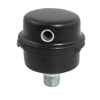 eDealMax reemplazo Admitiendo Puerto Silenciador Negro Metal Silenciador Para compresor de aire: Amazon.com: Industrial & Scientific