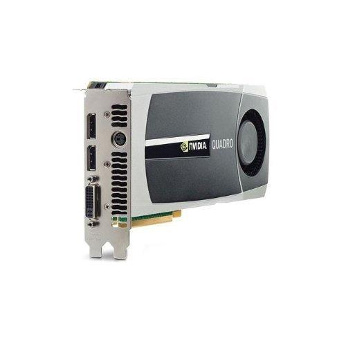 HP 671138-001 NVIDIA Quadro 5000 PCIe graphics card - Wit...