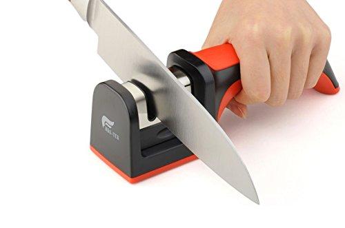 HDS-TEK TM Soft-Grip Handle 2 Stage Professional Knife Shar