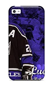 Tpu DanRobertse Shockproof Scratcheproof Los-angeles-kings Los Angeles Kings Hard Case Cover For Iphone 5c