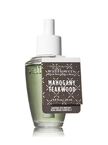 Bath & Body Works Wallflowers Fragrance Refill Bulb Mahogany Teakwood Spring 2018