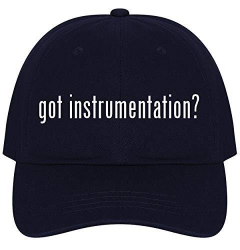 The Town Butler got Instrumentation? - A Nice Comfortable Adjustable Dad Hat Cap, Navy