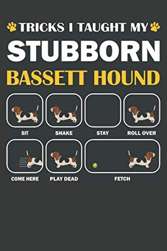 Bassett Hound Journal: A Bassett Hound Notebook Gift For Dog Lover
